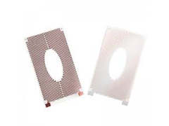 Polyester heater elements