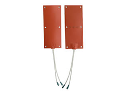 Silicone flexible heating elements